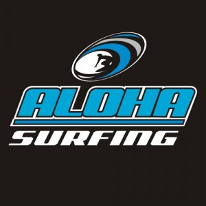 Aloha Surfing Custom Embroidery