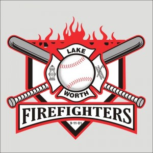 Firefighters baseball shirt