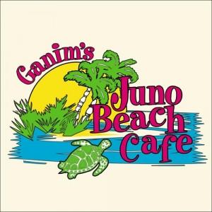 Juna Beach Cafe Custom Embroidery