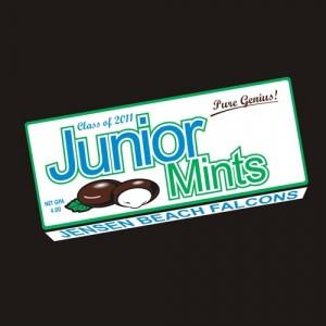 Junior Mint t-shirt design and print
