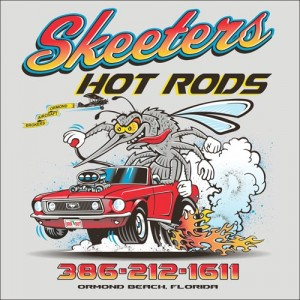Skeeters Hot Rods Shirts
